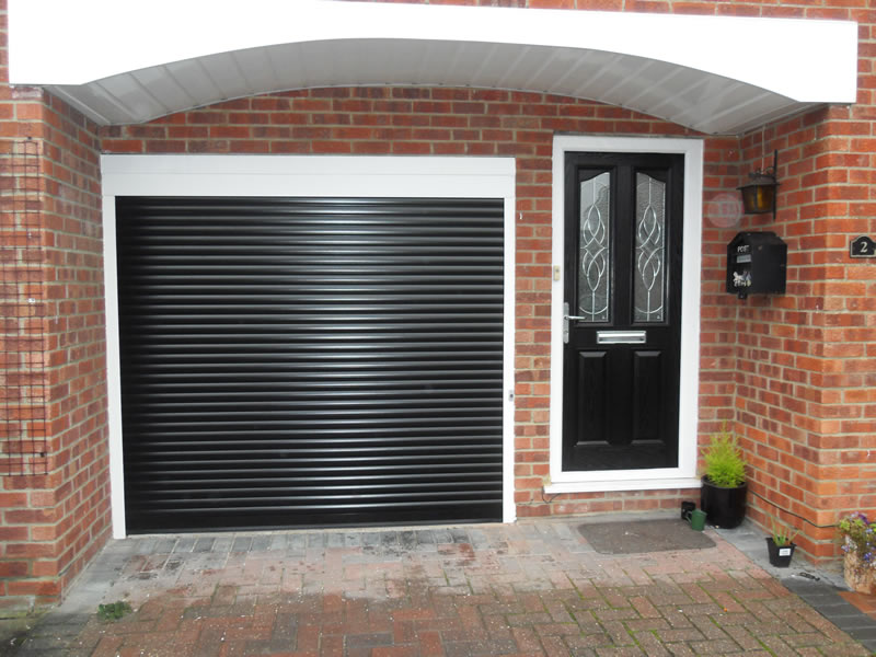 Roller Garage Door Installation In Bordon Hampshire Hampshire